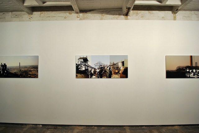 Mémoire, photomontage series by Sammy Baloji © Photo Chiara Cartuccia, 2014.