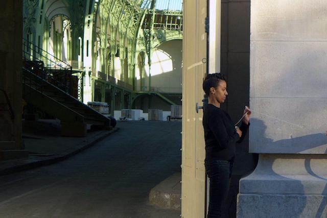 Kapwani Kiwanga, Spell To Bound Performance, Grand Palais, 2014, Paris. Courtesy of the artist
