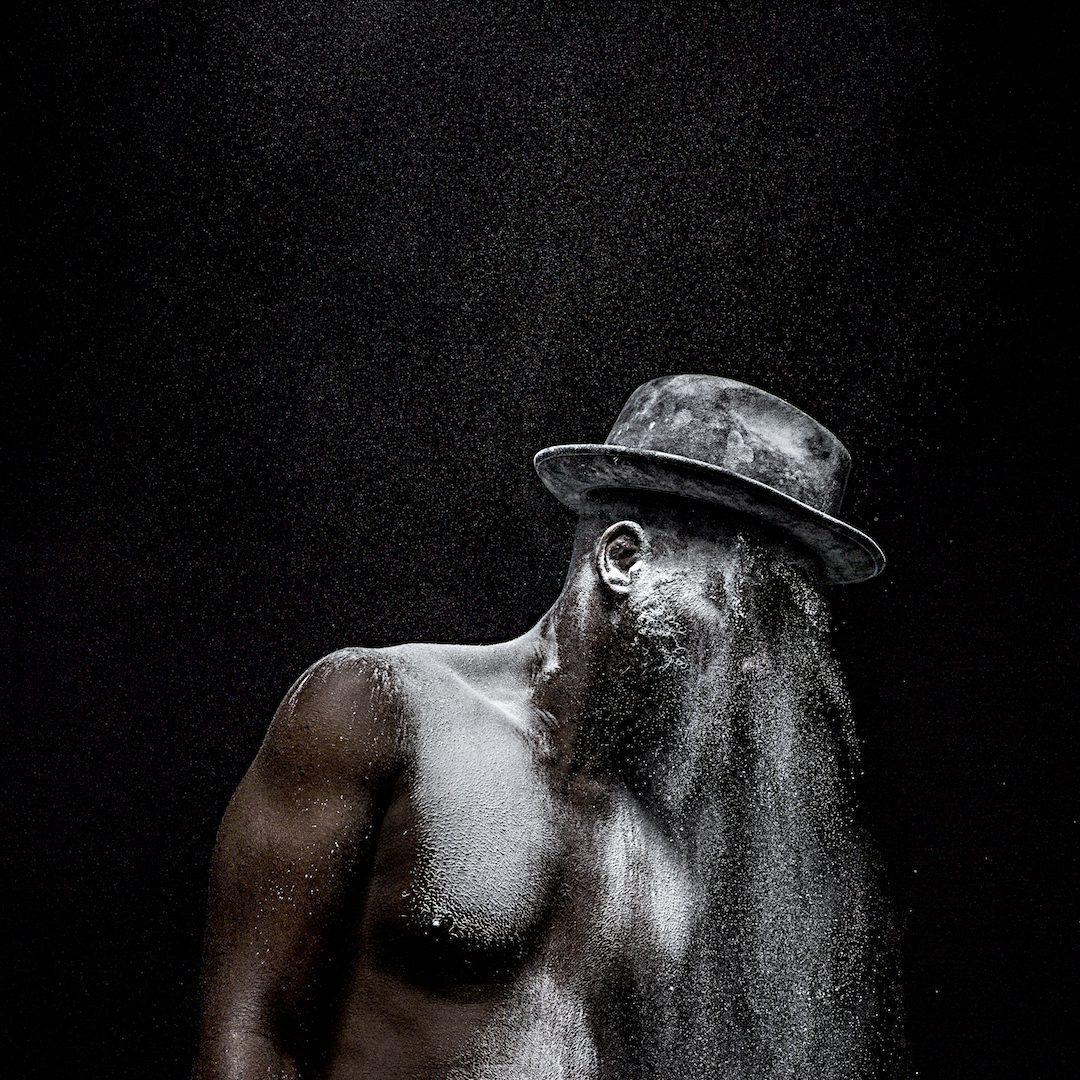 Mohau Modisakeng Untitled (Metamorphosis 3), 2015 inkjet print on Epson UltraSmooth. Copyright the artist, courtesy Tyburn Gallery