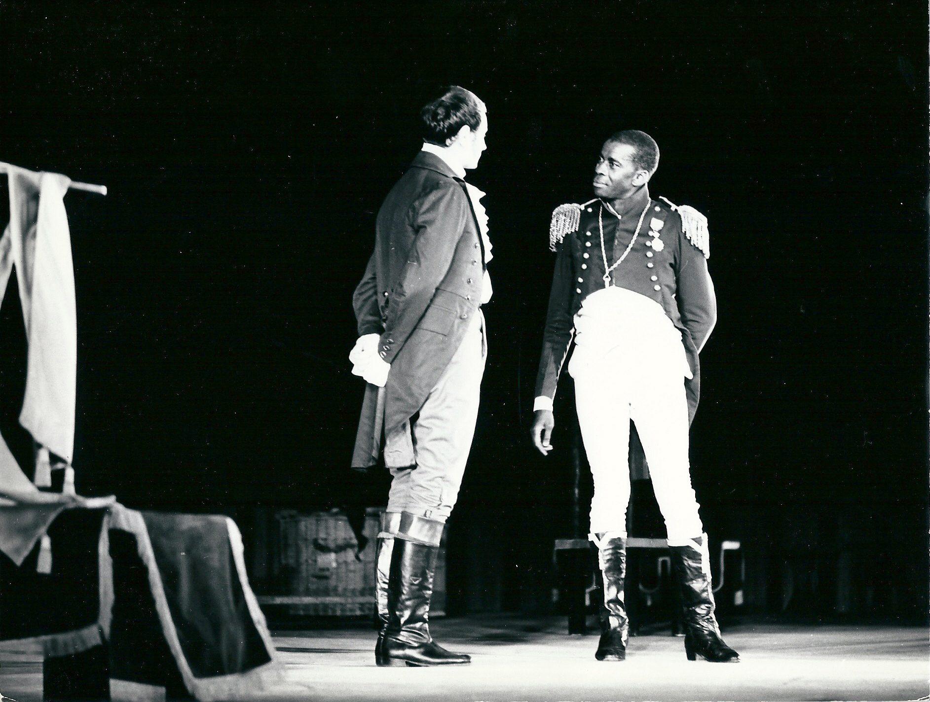 The play La Tragédie du roi Christophe by Aimé Césaire. Festival mondial des nègres, Dakar, 1966. Courtesy of PANAFEST archive