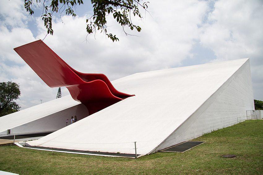 World Biennal Forum venue: Auditório Ibirapuera, Parque Ibirapuera São Paulo. Photo: Maycon Amoroso
