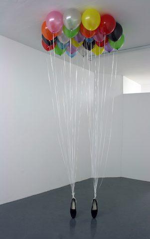 Appau Junior Boakye-Yiadom, P.Y.T, 2009. Installation image. Courtesy of the artist