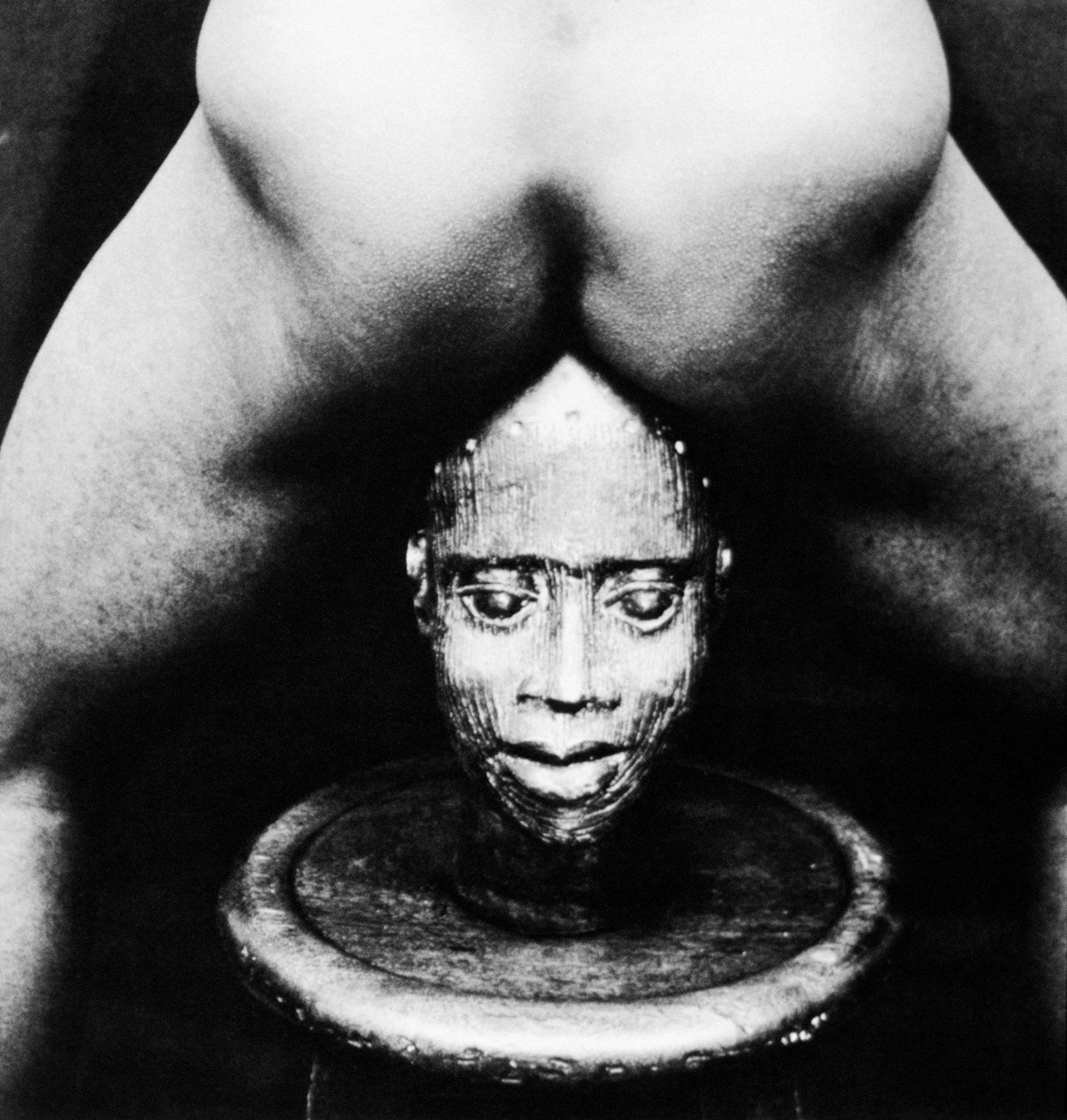Rotimi Fani-Kayode, Bronze Head, 1987 © Rotimi Fani-Kayode. Courtesy of Autograph ABP