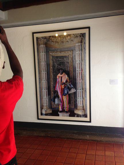 Artwork by Kiluanji Kia Henda: The Merchant of Venice, 2010, photography. Photo: Peters-Klaphake