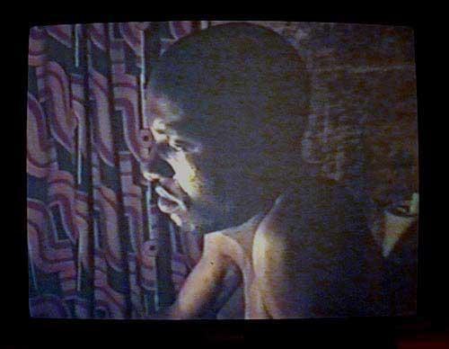 Moshekwa LangaHome Movies: Where do I begin, 2001Still from video