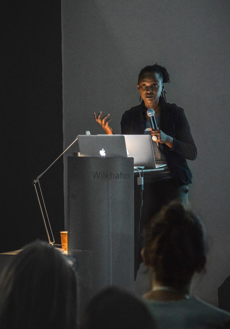 International Summer Academy, Künstlerhaus Salzburg. Koyo Kouoh, RAW Material Company, Dakar, Senegal. Courtesy of the International Summer Academy Salzburg