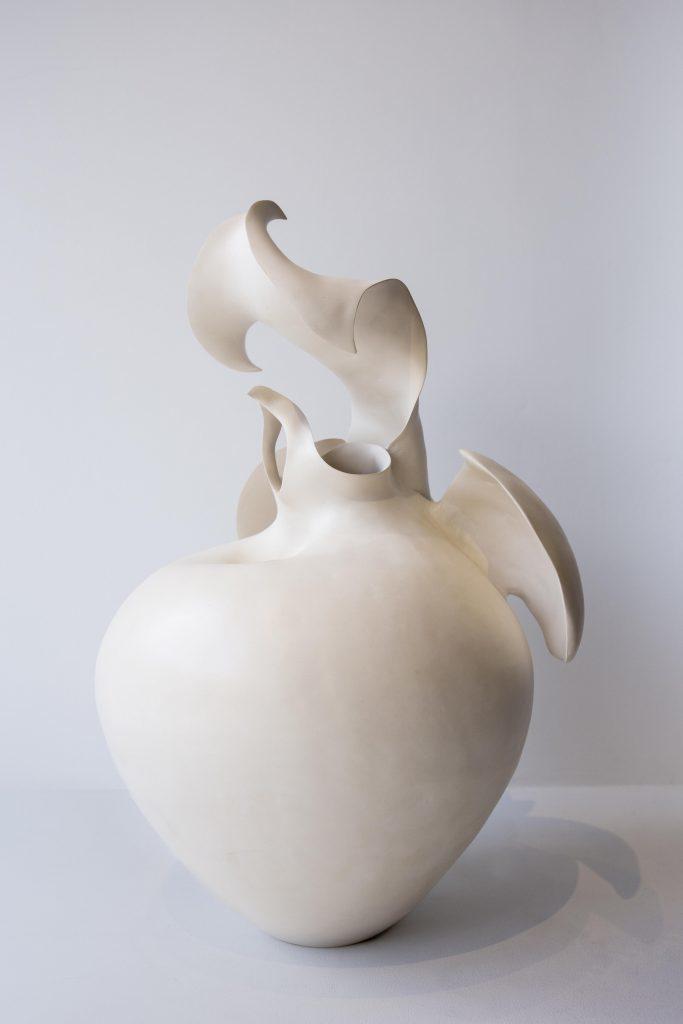 Astrid Dahl 'Slipper Orchid', 2015, ceramic; Courtesy 50 Golborne